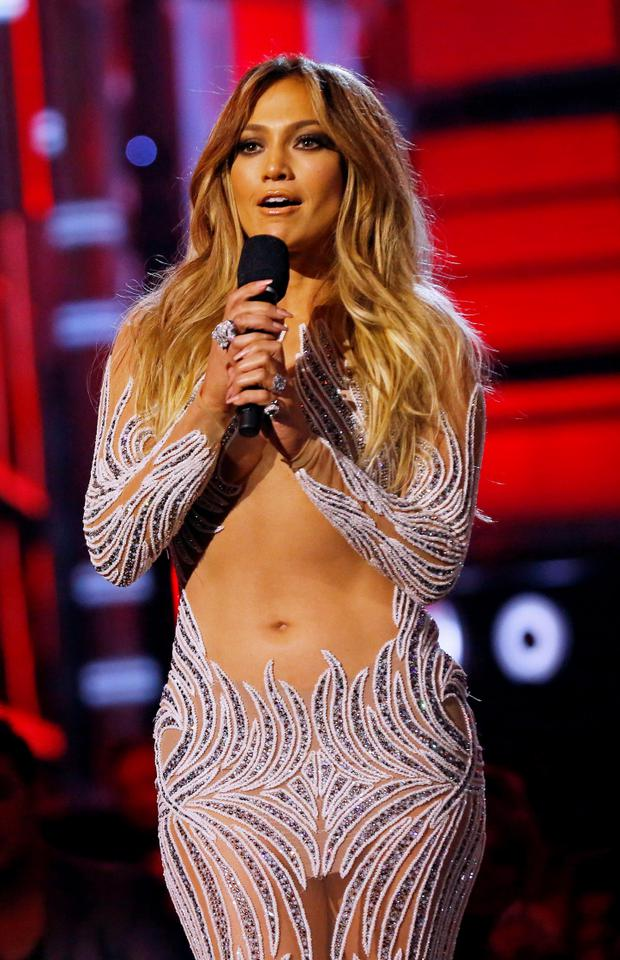 Jennifer Lopez takes the stage at the 2015 Billboard Music Awards in Las Vegas, Nevada May 17, 2015. REUTERS/Mario Anzuoni