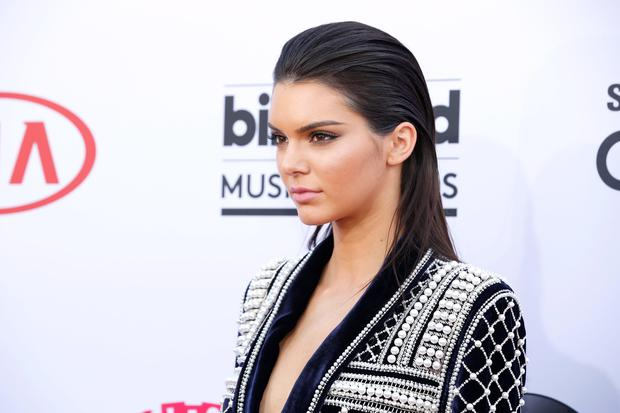 Kendall Jenner arrives at the Billboard Music Awards at the MGM Grand Garden Arena on Sunday, May 17, 2015, in Las Vegas. (Photo by Eric Jamison/Invision/AP)