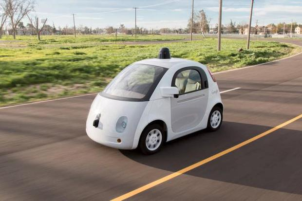 A Google self-driving car is shown in this handout photo released to Reuters March 15, 2015. REUTERS/Google/Handout via Reuters