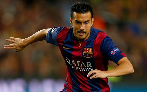 Manchester United have been linked with a move for Barcelona winger Pedro