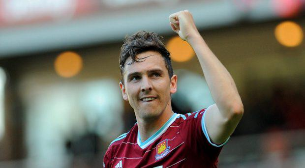 West Ham United's Stewart Downing