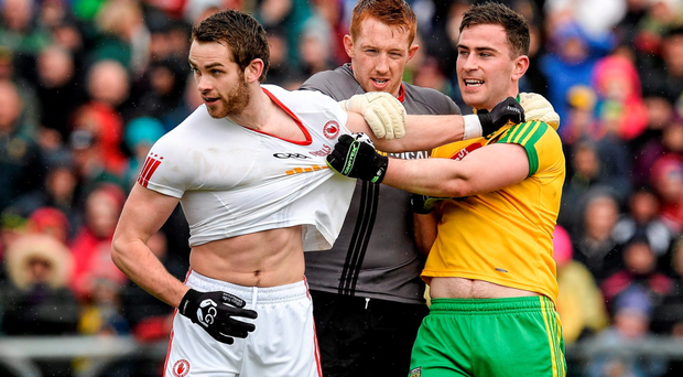 Donegal and Tyrone was undoubtedly the biggest game of the weekend