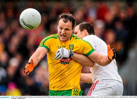 Both Michael Murphy and Justin McMahon could have been closer to making the line-up had it not been for their running battle