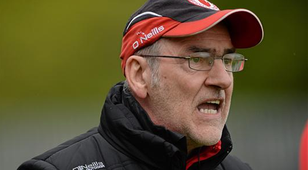 Mickey Harte remains optimistic that the season can still prove very fruitful for Tyrone (Sportsfile)