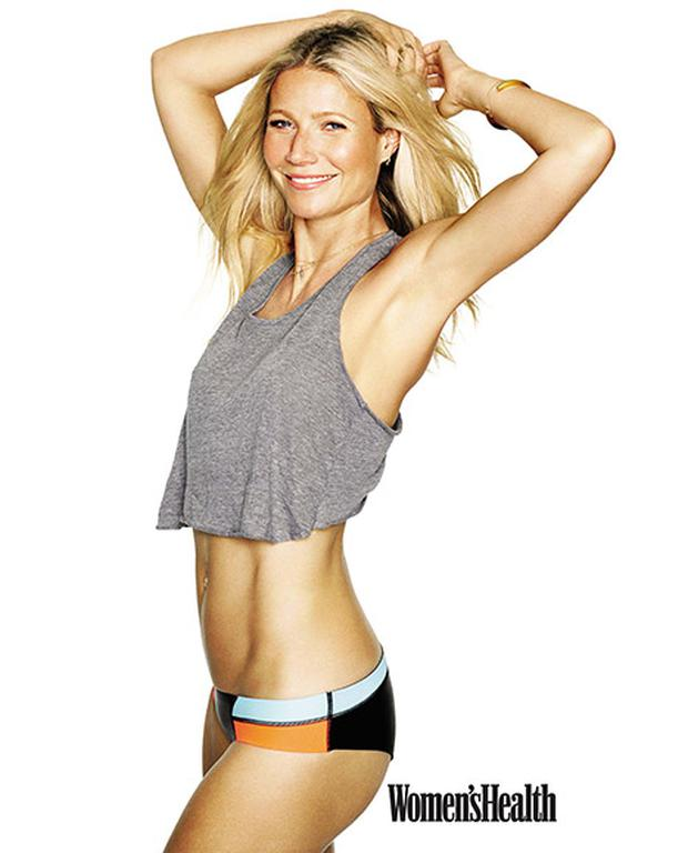 Gwyneth Paltrow poses on the cover of Women's Health magazine