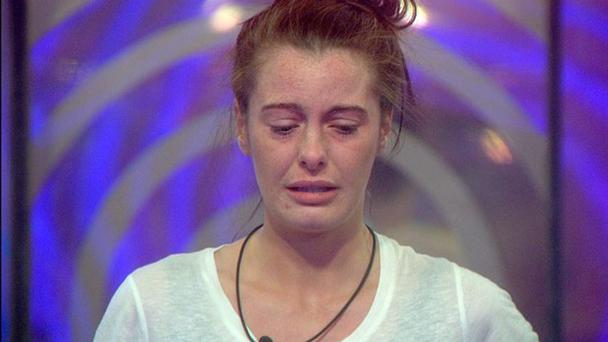 Big Brother 2015 - Jade crying