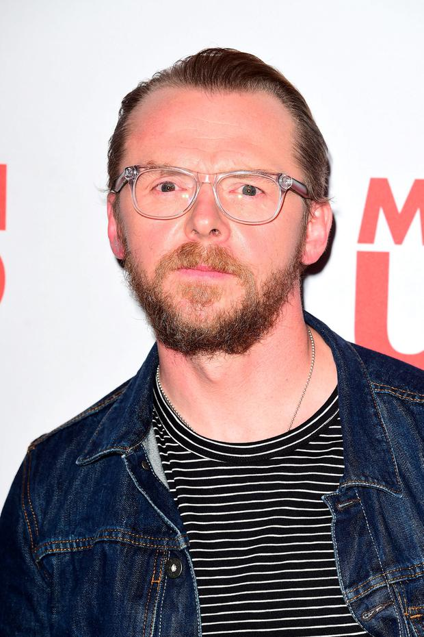 Simon Pegg has criticised the
