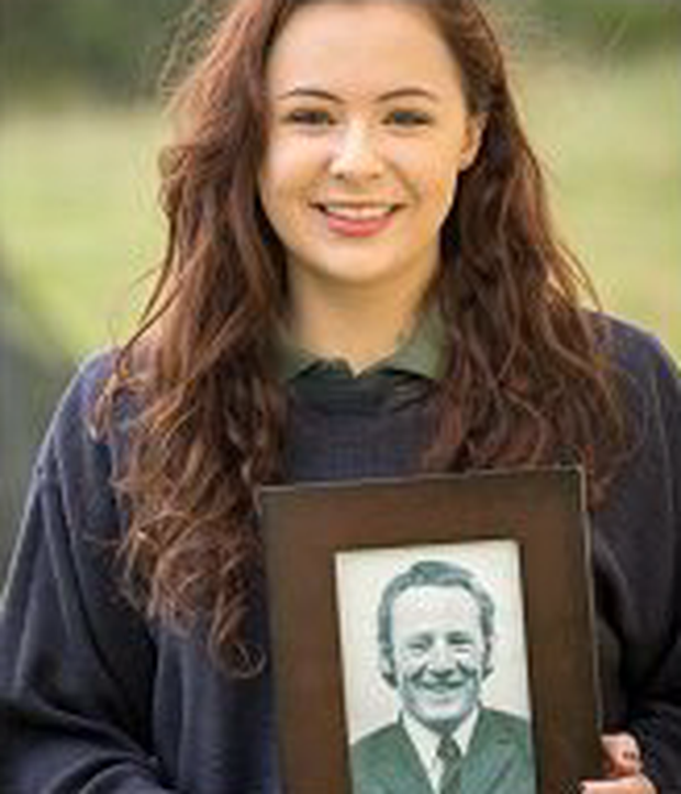 Bethany McLoughlin (17) was hand-picked to be part of a group of students who will sing four hymns at a service in Sligo.