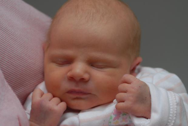 Baby Maria, who was discovered on the roadside in Rathcoole, Co Dublin, on Friday May 8th