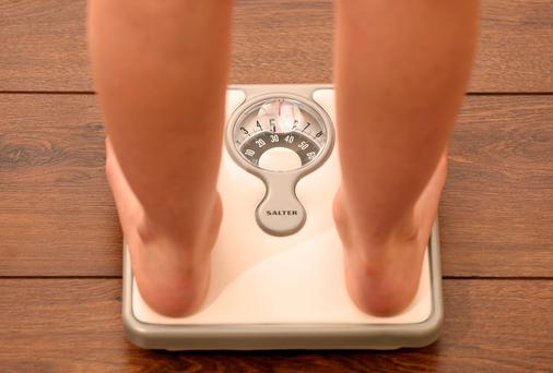 Childhood obesity on the rise (Posed by model). Photo: Chris Radburn/PA Wire