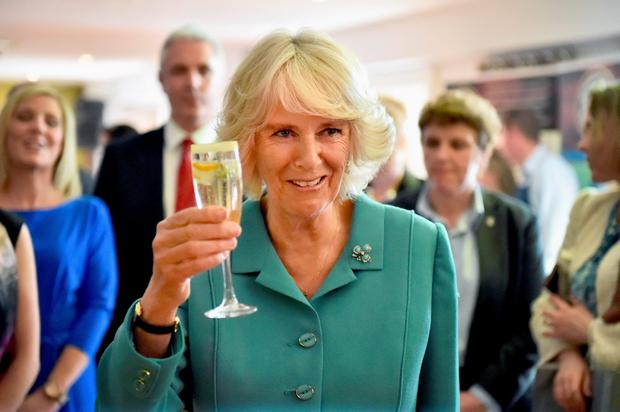 The Duchess of Cornwall visits the Taste of the Wild Atlantic Way Food Festival at the House Hotel in Galway Credit: Jeff J Mitchell/PA Wire
