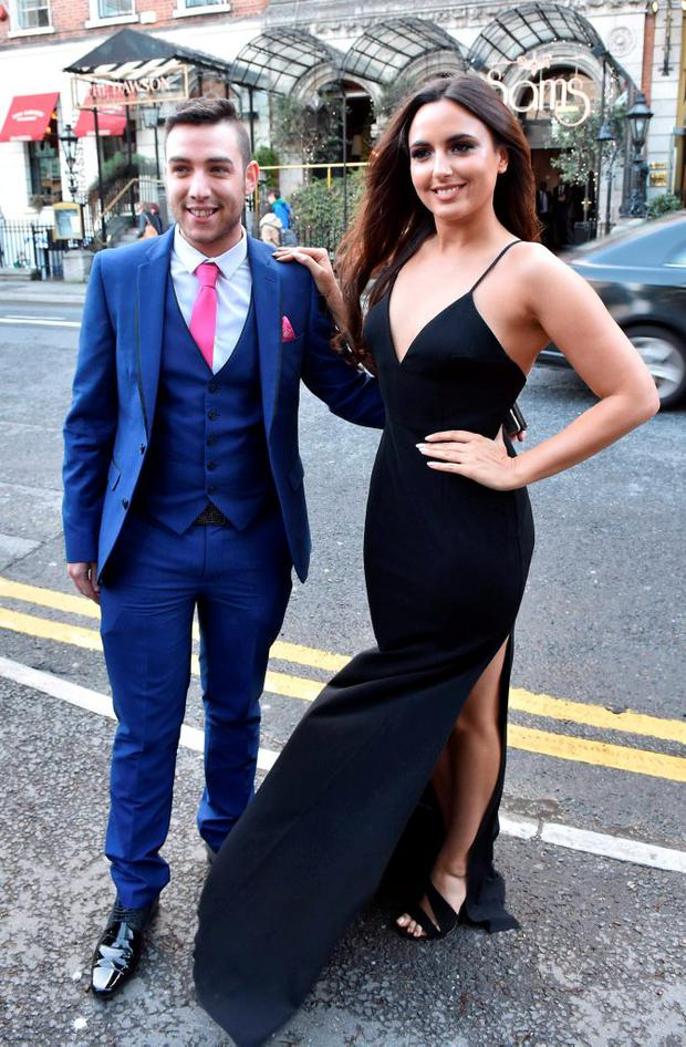 Nadia Forde & Robert Murphy at The Pride of Ireland Awards 2015 at The Mansion House