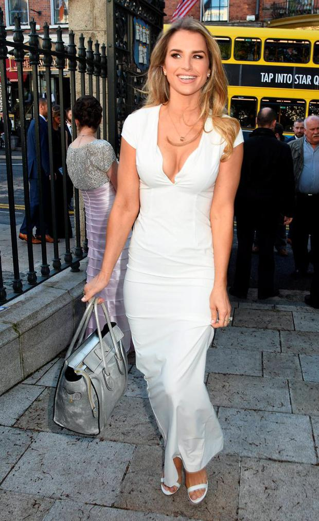 Vogue Williams McFadden at The Pride of Ireland Awards 2015 at The Mansion House