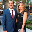 Amanda Byram and boyfriend Julien Okines at the Pride of Ireland Awards. Picture: Colin O'Riordan
