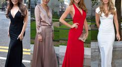 (L to R) Nadia Forde, Roz Purcell, Aoife Walsh and Vogue Williams at the Pride of Ireland Awards