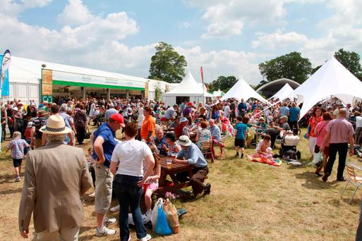 According to Bord Bia, this year's food village will be the largest and best yet. Photo: Nick Bradshaw