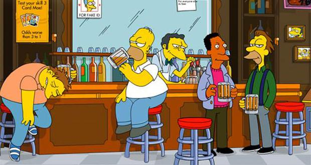 Duff is Homer's drink of choice.