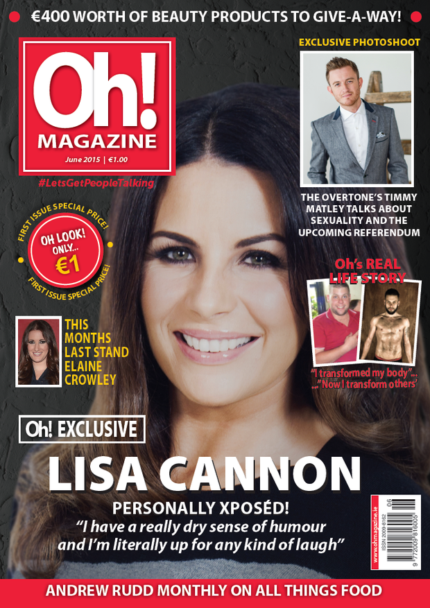 The old cover of #Oh magazine (Oh!) before the legal writ from owners of OK! magazine