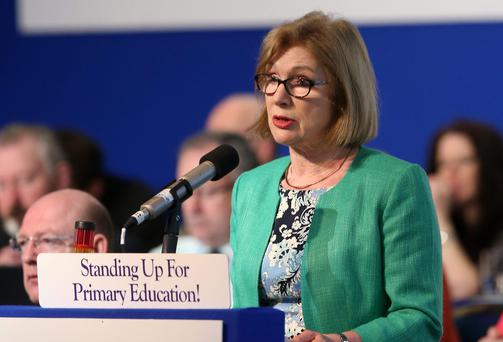 Education Minister Jan O'Sullivan wanted to introduce a 60:40 split in the marks between written exams in June and classroom assessment