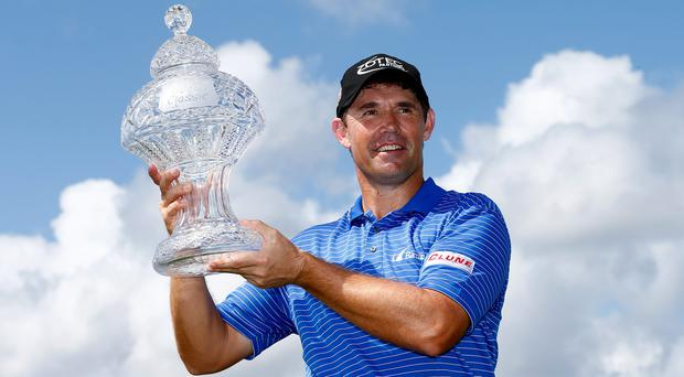 Padraig Harrington opted out of the Pro-Am at Wentworth yesterday as his shoulder problem worsened on Tuesday night