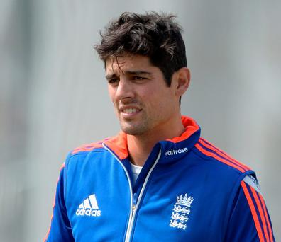 England captain Alastair Cook denied that he threatened to resign if Kevin Pietersen was brought back into the international fold but refused to elaborate about the broken relationship between the two