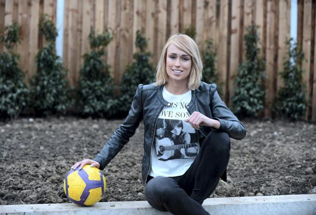 Republic of Ireland soccer player Stephanie Roche