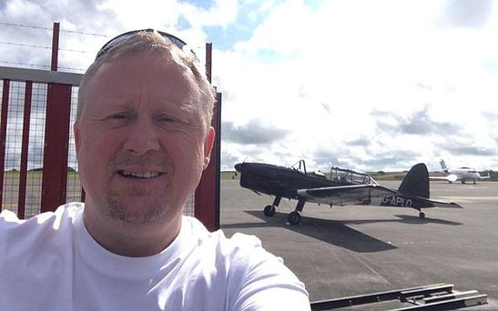 Passion for flying: Hugh Doyle (Facebook)