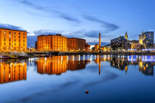 Liverpool: Aer Lingus will offer 16 flights a week this winter.