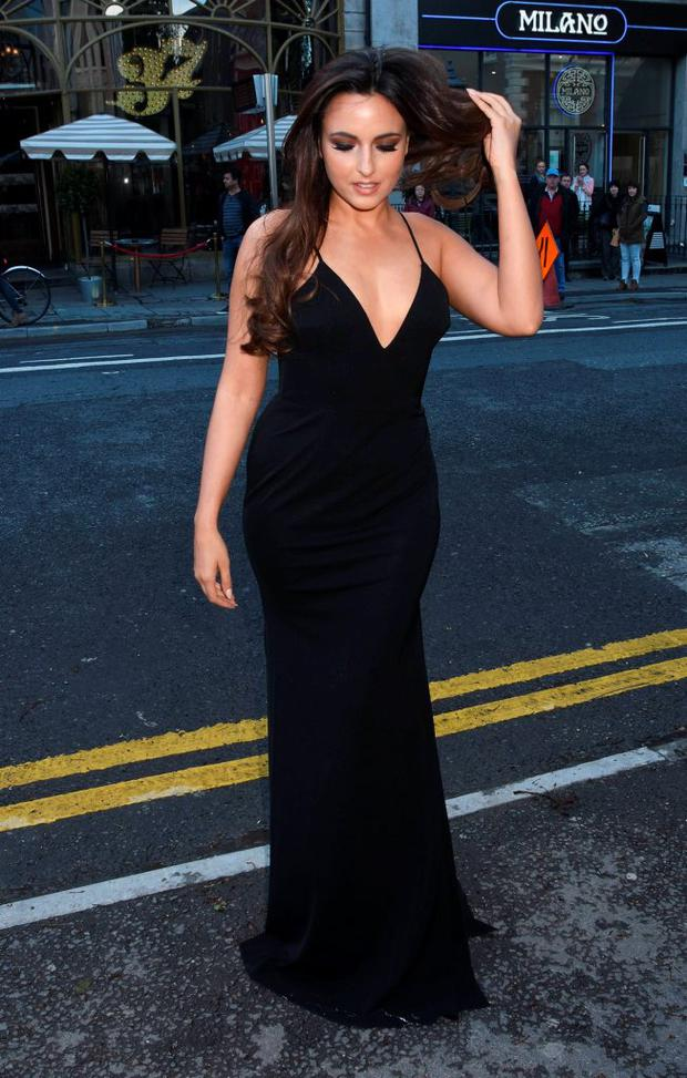 Nadia Forde at The Pride of Ireland Awards 2015 at The Mansion House