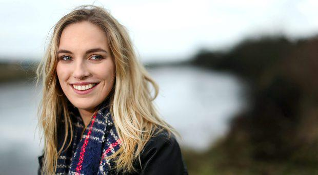 Molly Sterling who will represent Ireland at the Eurovision 2015 in Vienna