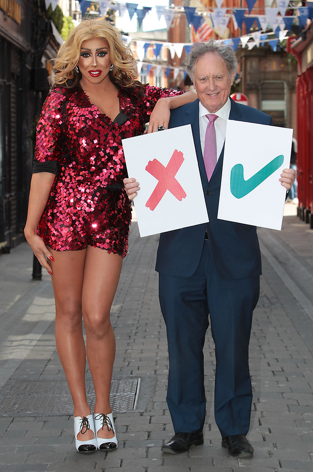 'Vincent Browne Live from The George' for TV3's Marriage Referendum Results Special