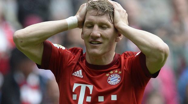 Transfer target: Manchester United are understood to be keen on signing Bastian Schweinsteiger