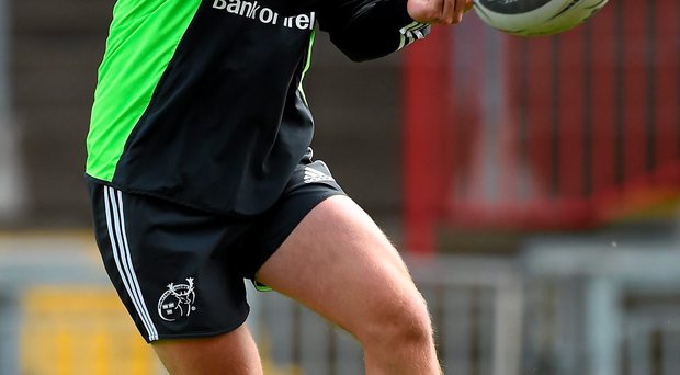 Munster coach Anthony Foley said that pre-season games would benefit Tyler Bleyendaal after his long return from injury