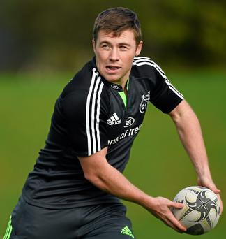 Luke O'Dea is among six Munster-based players chosen to represent the Ireland Men's Sevens team