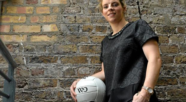 """GAA star Valerie Mulcahy: """"The equal marriage debate has given us all a reason to communicate and a motivation to listen."""" Photo: Brendan Moran"""