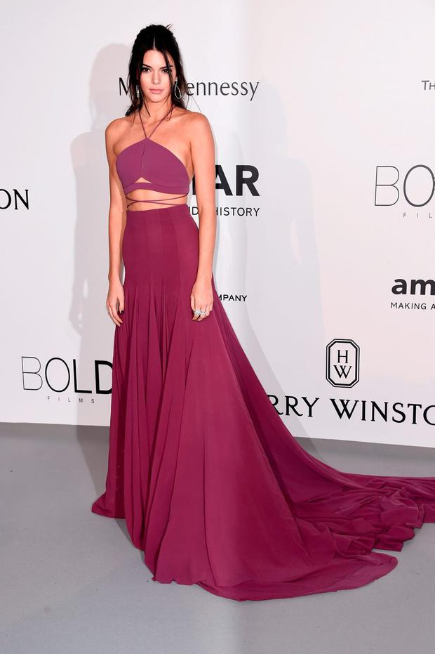 Model Kendall Jenner attends amfAR's 22nd Cinema Against AIDS Gala, Presented By Bold Films And Harry Winston at Hotel du Cap-Eden-Roc on May 21, 2015 in Cap d'Antibes, France. (Photo by Ian Gavan/Getty Images)