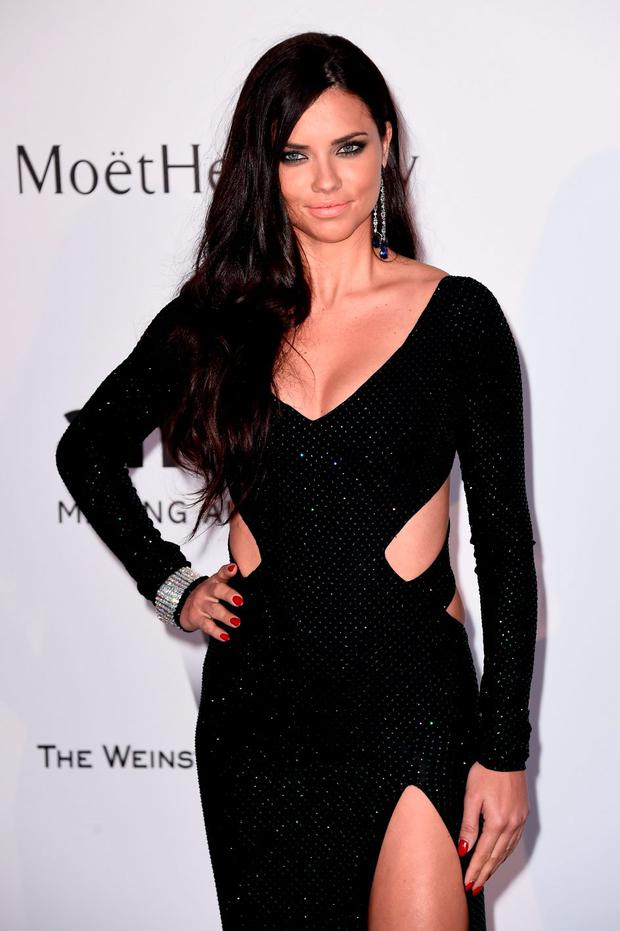 Model Adriana Lima attends amfAR's 22nd Cinema Against AIDS Gala, Presented By Bold Films And Harry Winston at Hotel du Cap-Eden-Roc on May 21, 2015 in Cap d'Antibes, France. (Photo by Ian Gavan/Getty Images)