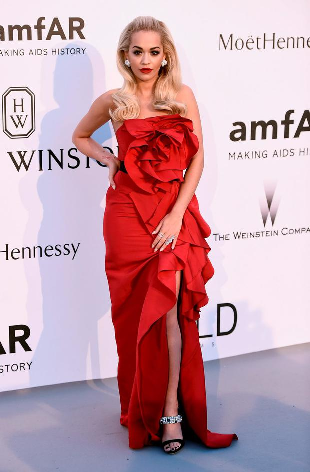Singer Rita Ora attends amfAR's 22nd Cinema Against AIDS Gala, Presented By Bold Films And Harry Winston at Hotel du Cap-Eden-Roc on May 21, 2015 in Cap d'Antibes, France. (Photo by Ian Gavan/Getty Images)