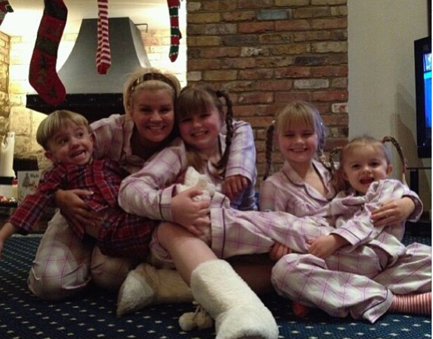 Kerry Katona And Brian McFadden's Children Involved In