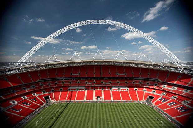 Homes have been evacuated as the Army works to defuse an undetonated Second World War bomb near Wembley Stadium.
