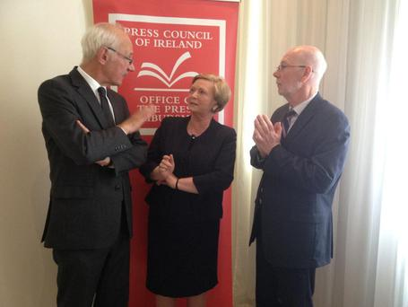Justice Minister Frances Fitzgerald at the launch of the Press Council's Annual Report Credit: Frances Fitzgerald