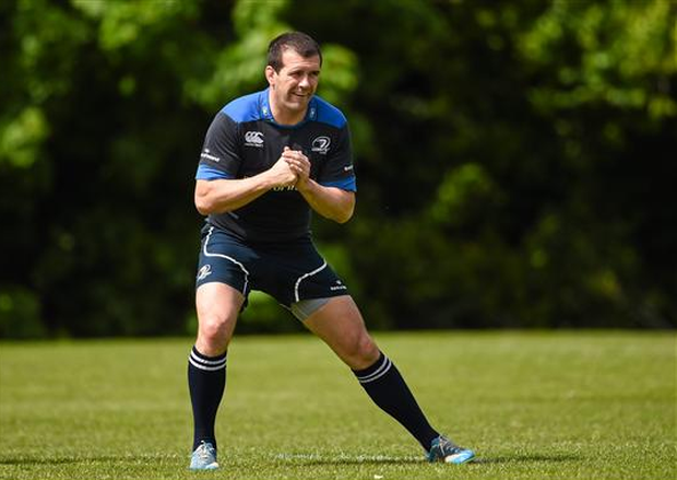 Shane Jennings was never one to go with the flow during his storied career, so signing off at Thomond Park while playing against Ireland might just appeal to the retiring Leinster hero (Sportsfile)