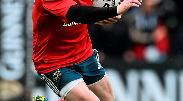 Munster's Keith Earls is in a rich vein of try-scoring form (Ramsey Cardy / SPORTSFILE)