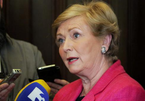 Minister for Justice and Equality, Frances Fitzgerald