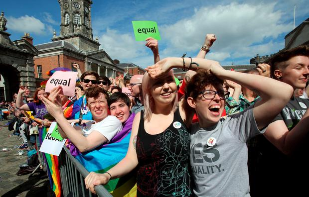 The quiz printed in the Irish Sun pushes 'offensive' stereotypes, according to an LGBT activist AFP PHOTO / Paul FaithPAUL FAITH/AFP/Getty Images