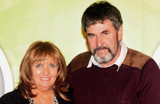 Tom and Croen Ruttle, at The Blas na h-Eireann / Irish Food Awards at The Dingle Food Festival in Dingle County Kerry in 2013. Picture: macmonagle