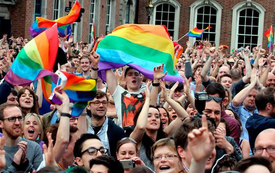 Not only were the Irish the first in the world to be asked to vote on marriage equality, but when they were, an overwhelming majority of the people said yes