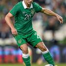 Norwich's Wes Hoolahan could boost the EPL representation in the Ireland squad should the Canaries win today's play-off final against Middlesbrough