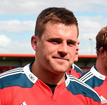 CJ Stander has his sights set on winning his first trophy with Munster