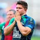 Connacht's Dave Heffernan can't hide his disappointment at the final whistle